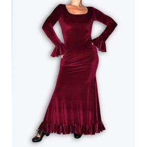 Vestido de flamenca Lira Terciopelo