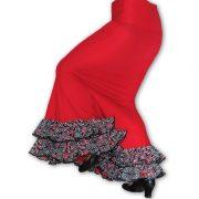 falda flamenco Alma Rojo est Alhambra