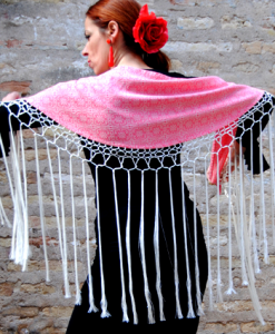 Mantoncillo de baile flamenco