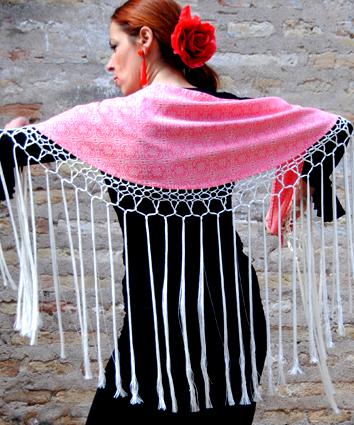 Mantoncillo de baile flamenco